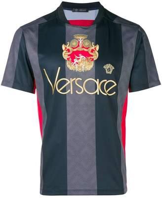 Versace logo football shirt