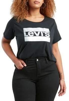 Levi's Plus Perfect Short-Sleeve Cotton Tee