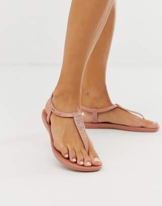 Ipanema pop glitter flat sandals
