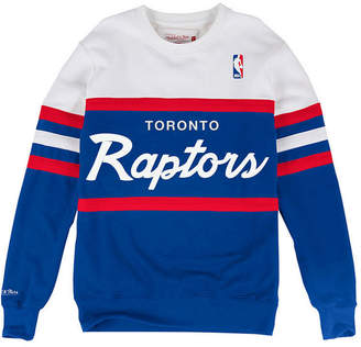 Mitchell & Ness Men's Toronto Raptors Head Coach Crew Sweatshirt