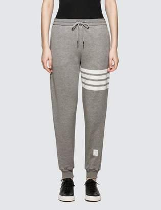 Thom Browne Classic Sweatpants In Classic Loop Back W/ Engineered 4 Bar
