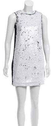 Paule Ka Sequin Mini Dress
