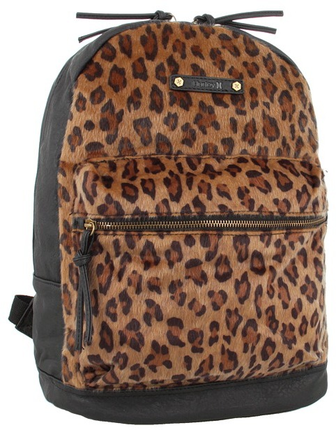 Hurley Market Backpack (Cheetah) - Bags and Luggage