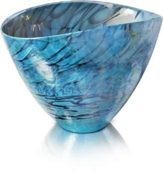 Murano Yalos Belus - Turquoise Glass Vase