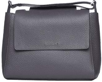 Orciani Sveva M Leather Shoulder Bag