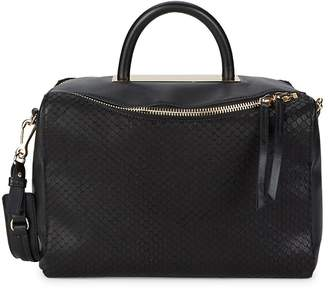 Vince Camuto Women's Textured Leather Satchel