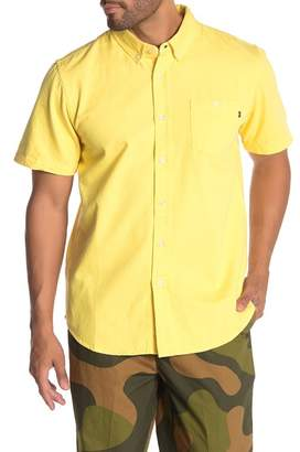 Obey Keble Denim Short Sleeve Shirt