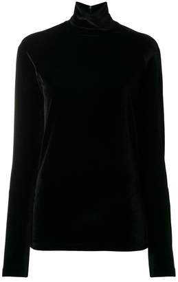 Haider Ackermann velvet sweater