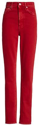 Helmut Lang Femme Hi Spikes Skinny Jeans