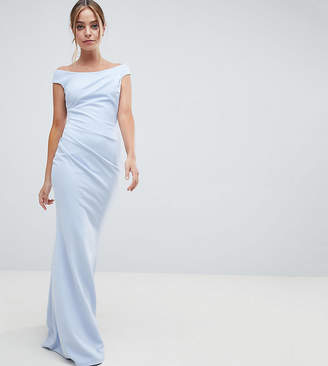 Bardot City Goddess Petite City Goddess petite Fishtail Maxi Dress