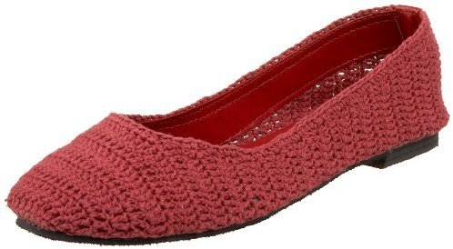 Charles Albert Women's Crochet Flat
