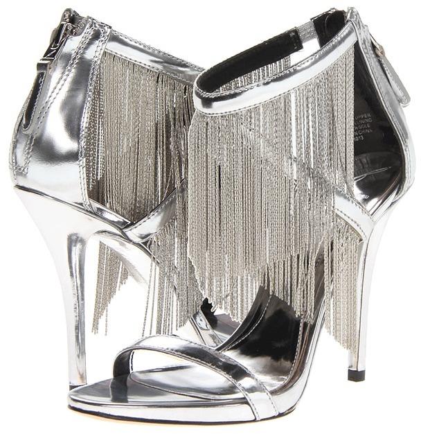 Brian Atwood Condesa (Silver) - Footwear