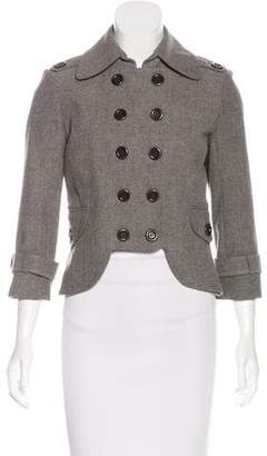 Robert Rodriguez Structured Cropped Jacket