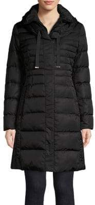 Tahari Hooded Puffer Jacket