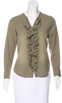 Etoile Isabel Marant Zip-Up Liz Top w/ Tags