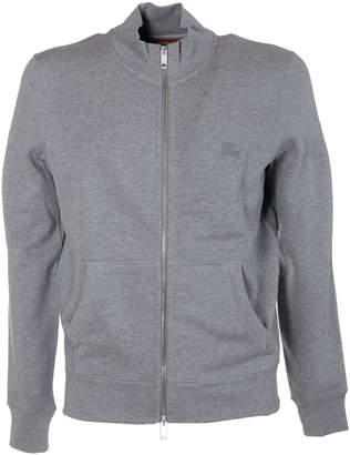 Burberry Ribbed Paneled Sweatshirt