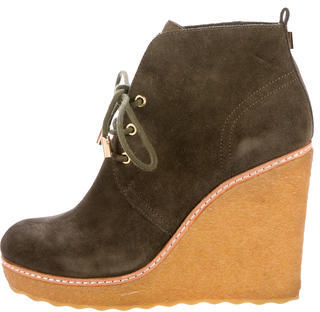 Tory Burch Tory Burch Denise Suede Ankle Boot