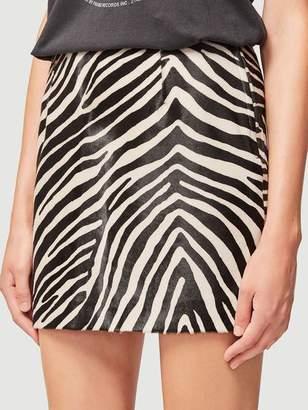Frame Zebra Suede Mini