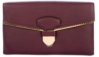 Loewe Grained Leather Frame Clutch