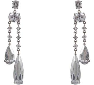 Nina Cubic Zirconia Drop Earrings