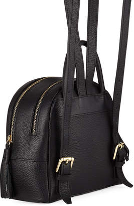 Mario Valentino Valentino By Xavier Tassel-Zip Leather Backpack