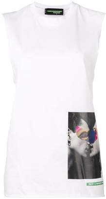 DSQUARED2 graphic print tank top