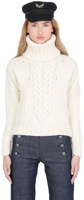 Tommy X Gigi Chunky Cable Knit Sweater $225 thestylecure.com