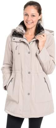 Fleet Street Women's Faux-Fur-Trimmed Anorak Jacket