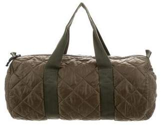Fred Perry Quilted Barrel Bag
