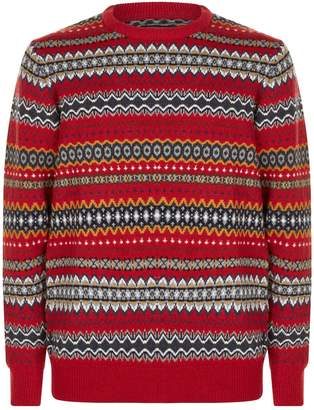 Barbour Case Fair Isle Sweater