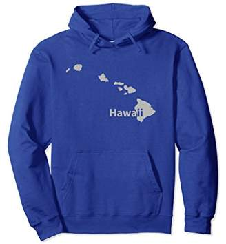 Hawaii State Outline Travel Hoodie