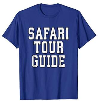Safari Tour Guide Halloween T-Shirt Costume