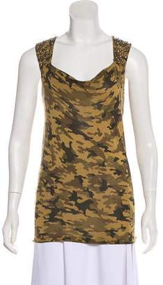 MICHAEL Michael Kors Camouflage Sleeveless Top