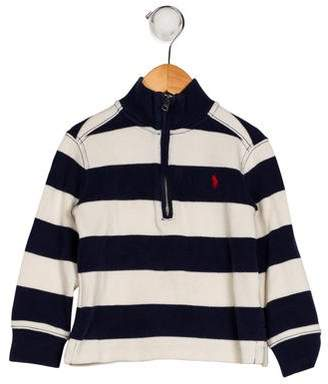 Ralph Lauren Boys' Striped Turtleneck Sweater