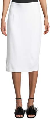 Michael Kors Crepe Sable Pencil Skirt
