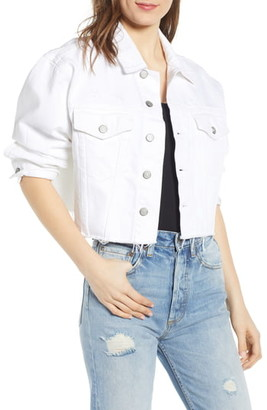 Boyish Jeans The Harvey Raw Hem Denim Jacket