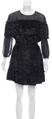 Rachel Zoe Velvet Mini Dress w/ Tags
