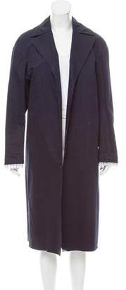 Marni Longline Notch-Lapel Coat