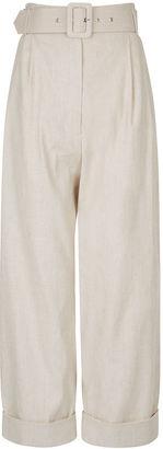 Natural Safari Tapered Trousers