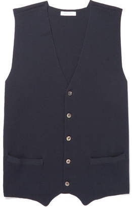 Boglioli Bonded Virgin Wool Sweater Vest