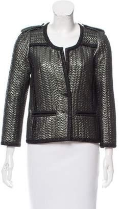 Isabel Marant Quilted Metallic Jacket