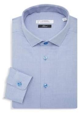 Versace Textured Dress Shirt