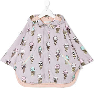 Stella McCartney ice cream print cape