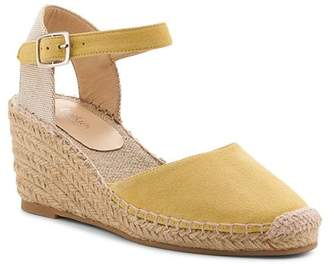 60a5e650e7a Botkier Women s Elia Suede Ankle Strap Espadrille Wedge Sandals