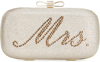 INC International Concepts Bridal Clutch, Only at Macy's $79.50 thestylecure.com