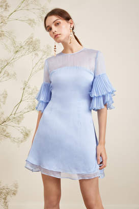 Keepsake HORIZONS MINI DRESS pastel blue
