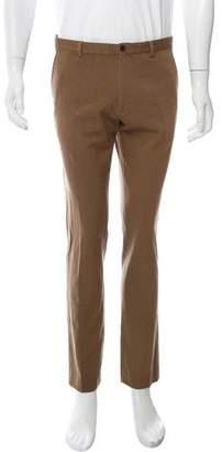 Dries Van Noten Wool Cropped Pants