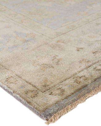 Exquisite Rugs Annetta Antique Oushak Rug, 10' x 14'