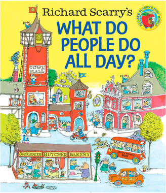 Penguin Random House Richard Scarry's What Do People Do All Day