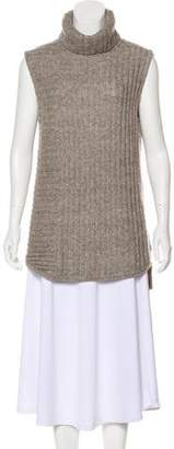 Theory Mohair-Blend Asymmetrical Sweater